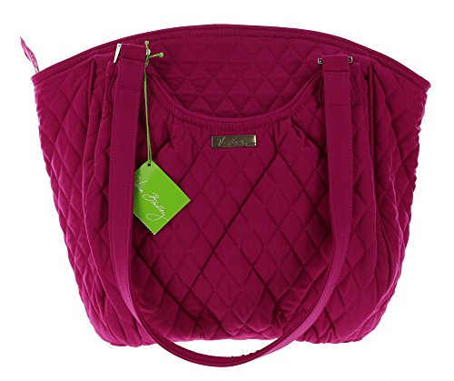 Vera Bradley Glenna Shoulder Handbag in Magenta