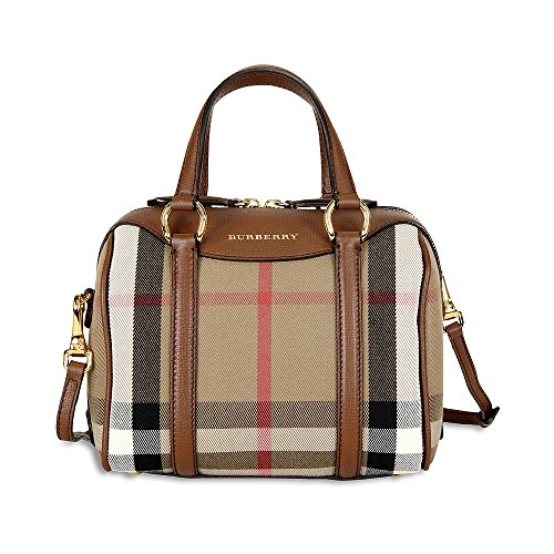 Burberry Small Alchester Bowling Bag – Brown Ochre