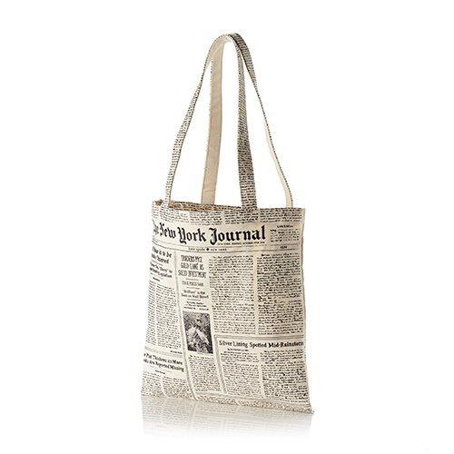 kate spade new york Canvas Tote, Newsprint