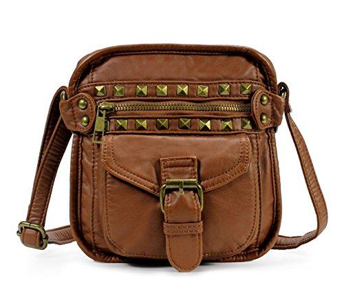 Scarleton Mini Top Horizontal Studded Crossbody Bag H1829