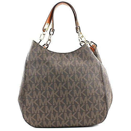Michael Kors Fulton Large Logo Shoulder Bag