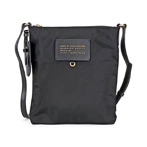 Marc by Marc Jacobs Preppy Legend Nylon Sia Crossbody Bag in Black