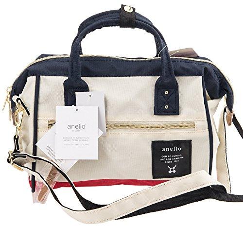 Anello Official Red & White & Blue Japan Fashion Shoulder Top-Handle Satchels Cross-Body Bag Unisex