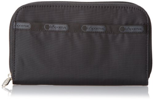LeSportsac Lily Wallet,Black,One Size