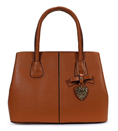 Scarleton Chic Pendant Satchel H174704 – Brown