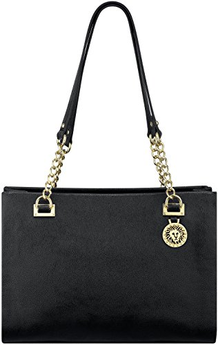 Anne Klein Time to Indulge Small Tote (Black)