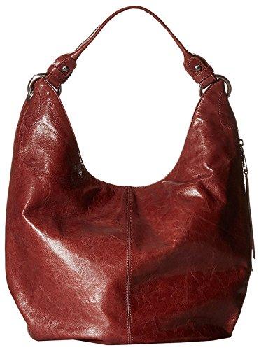 Hobo Women's Leather Vintage Gardner Shoulder Handbag (Mahogany)