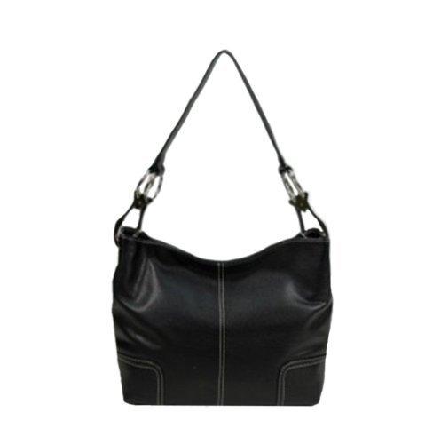 Tosca Hand Bag Handbag Purse 640 – (multiple colors), Mettalic Brown