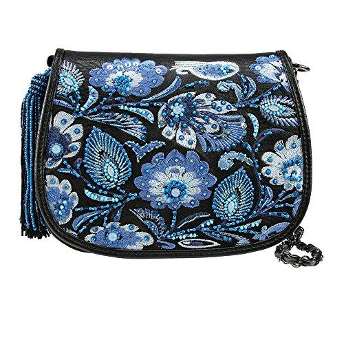 Mary Frances Botanica Mini Handbag