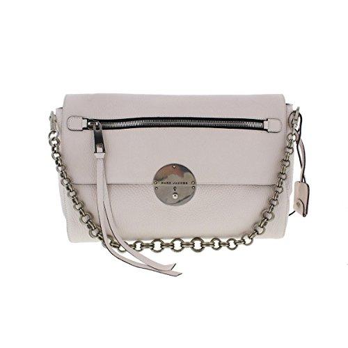 Marc Jacobs Womens Gotham Leather Lock Shoulder Handbag