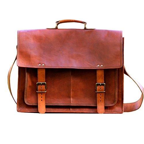 LUST Leather Handmade Genuine Leather Crossbody Messenger Bag