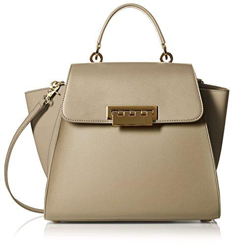 ZAC Zac Posen Women's Eartha Iconic Top-Handle Bag in Beige