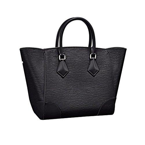 Authentic Louis Vuitton Epi Leather Phenix MM Bag Handbag Noir Article: M50590 Made in France