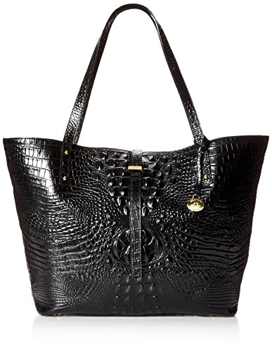NEW AUTHENTIC BRAHMIN ALL DAY LARGE CARRYALL TRAVEL TOTE (Black Melbourne)
