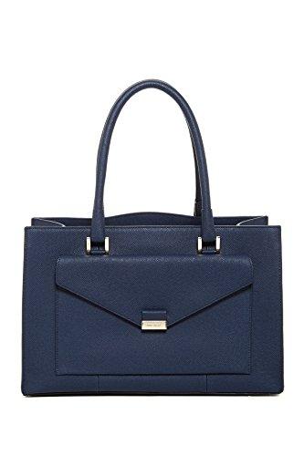 Cole Haan Amalia Large Satchel Shoulder Bag, Blazer Blue