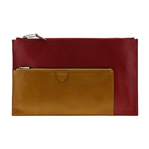 Marc Jacobs Womens Leather Lined Clutch Handbag