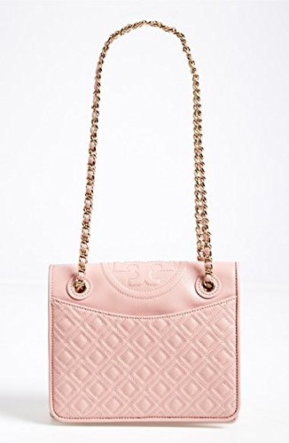 Women's Tory Burch Medium Fleming Shoulder Bag Pink Leather