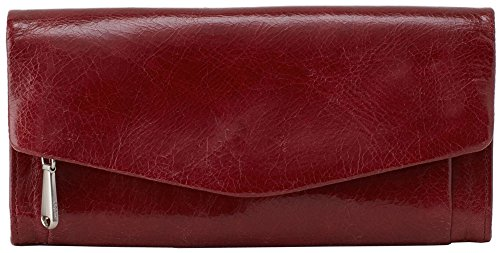 Hobo Vintage Leather Stevie Clutch Wallet – Mahogany