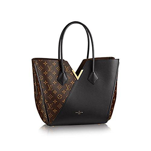 Authentic Louis Vuitton Kimono Tote Monogram Canvas Handbag Article: M40460 Noir Made in France