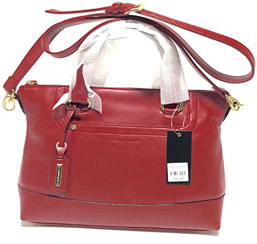 Tignanello Smooth Operator Convertible Satchel Rouge T68705A