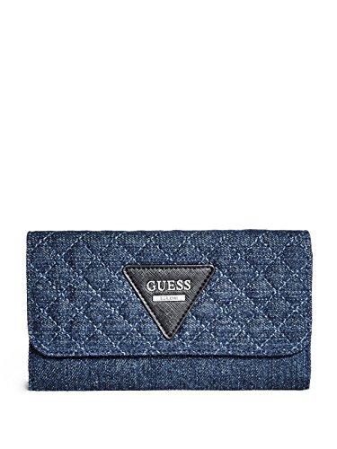 GUESS Women's Darcie Denim Slim Wallet