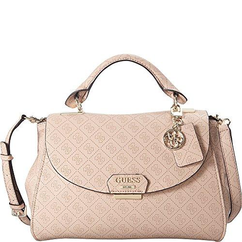 GUESS Shantal Top Handle Flap Bag