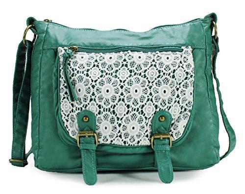 Scarleton Trendy Lace Style Crossbody Bag H1910
