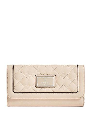 GUESS Women's Crystal Slim Wallet