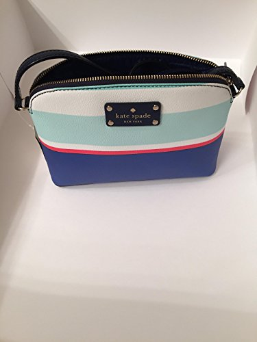 Kate Spade Hanna Wellesley Cross Body Bag, Tropical Stripes