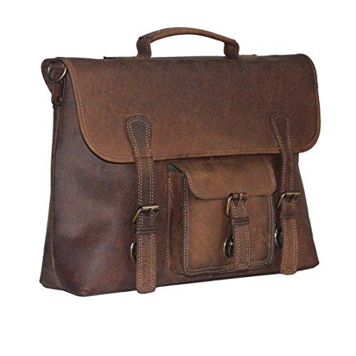 Artandcraft-Leather bag messenger,Satchel,officebag, laptop bag, overnight