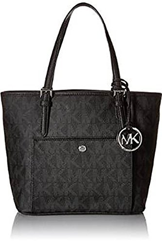 Michael Kors Jet Set MD Snap Pocket Tote