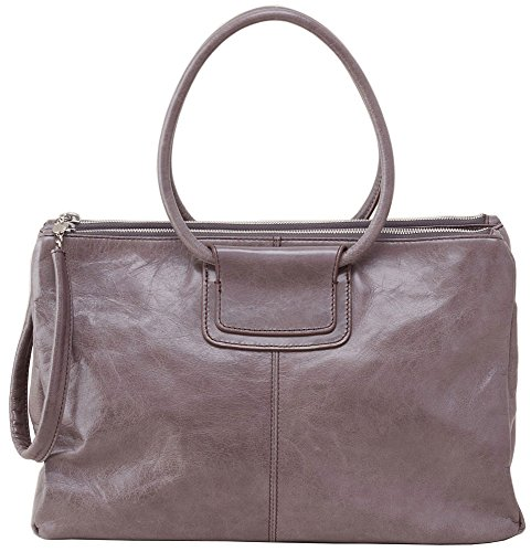 Hobo Handbags Vintage Leather Salina Satchel – Granite