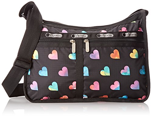 LeSportsac Deluxe Everyday Handbag,Wild At Heart,One Size