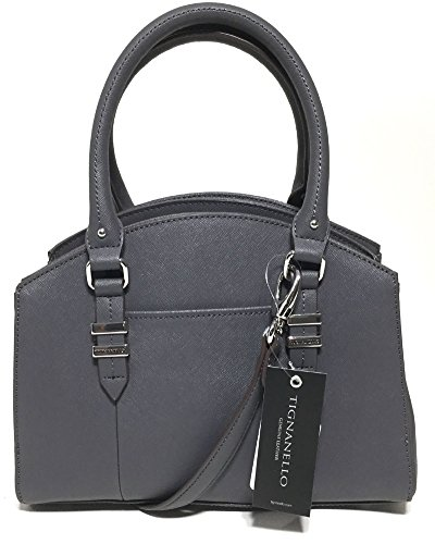 Tignanello Carry All Satchel Dark Grey A272260