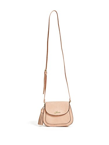 GUESS Women's Carrie Saddle Cross-Body