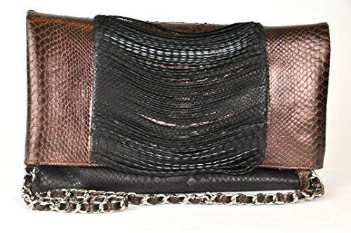 Genuine Python Skin Evening Handbag – Exotic Snakeskin Leather