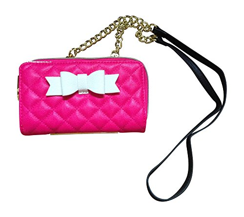Betsey Johnson Crossbody Bag/Wallet with Bow