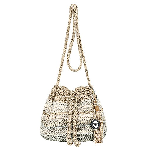 The Sak Moraga Crochet Drawstring Crossbody
