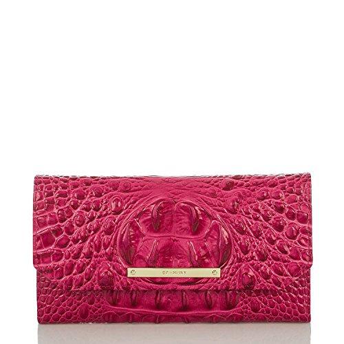 Brahmin Soft Checkbook Wallet Punch Melbourne Leather