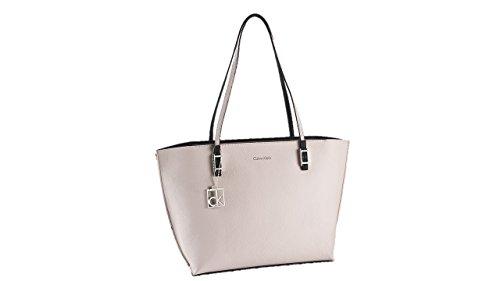 Calvin Klein womens hailey shopper tote bag handbag teaberry color