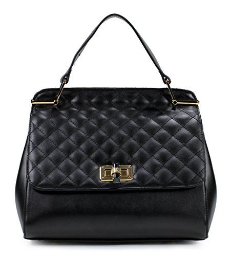 Scarleton Stylish Quilted Flap Satchel H1844