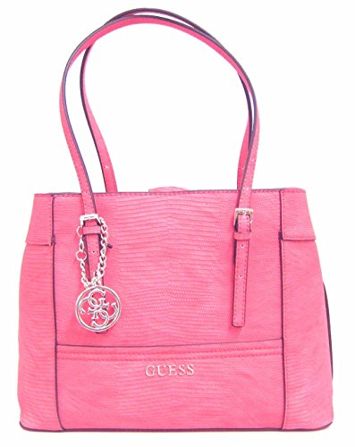 GUESS Women's Delaney Satchel Bag, Passion