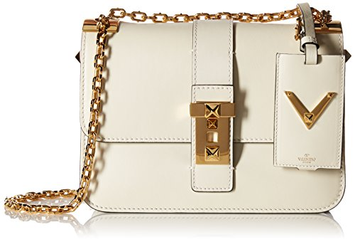Valentino Women's Borsa Shoulder Bag, Ivory
