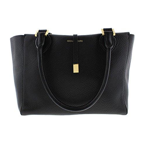 Michael Kors Womens Miranda Leather Tie Closure Tote Handbag