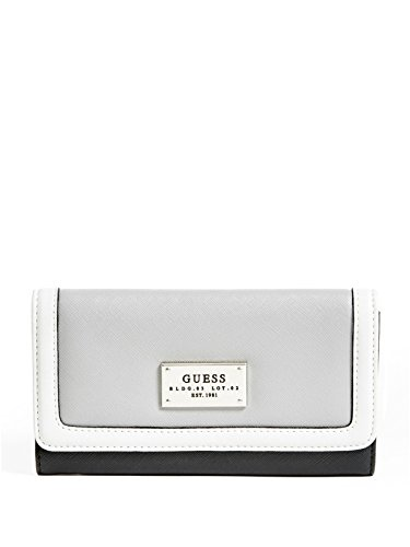GUESS Women's Lenora Color-Blocked Slim Wallet