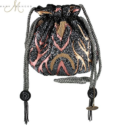 Mary Frances Tiger Tavern Handbag