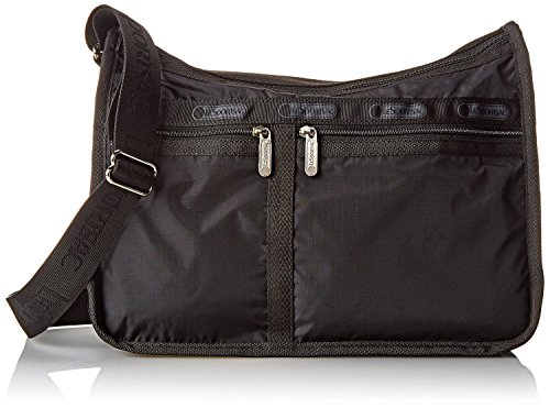LeSportsac Deluxe Everyday Handbag (One Size, Black)