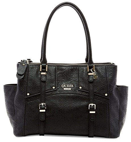 GUESS Rikki Status Women's Satchel Black