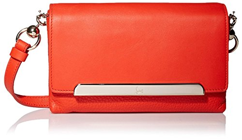 Christian Louboutin Women's Rougissime Clutch, Coral