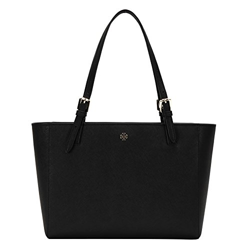 Tory Burch Women's York Small Buckle Tote Bag 31149802-001 Black